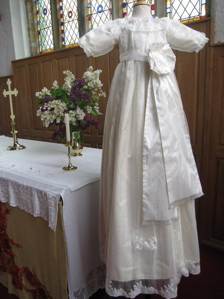 A Royal Christening Gown Little Doves