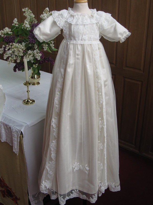Lord Compton Antique Christening Gown   Restoration & Replica
