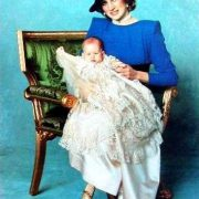 Royal Christening Gown on Prince William