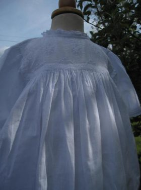 Vintage Christening Gown by Little Doves
