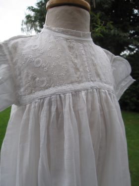Baby Girl's Edwardian Christening Gown