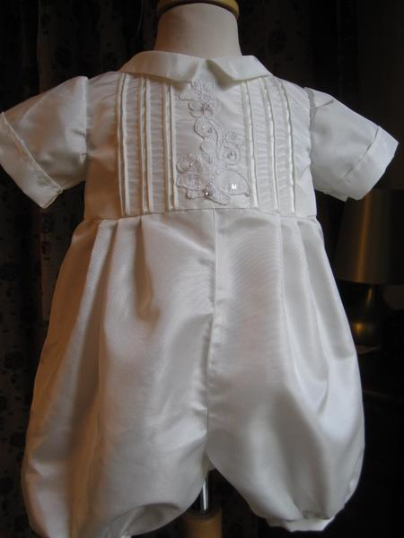Boys Christening Ensemble Little Doves