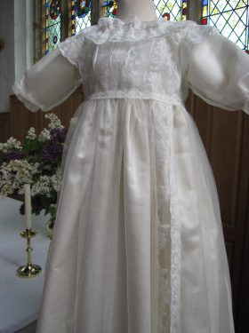 Royal Christening Gown in Church