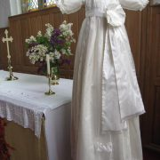 Royal Christening Gown with Sash