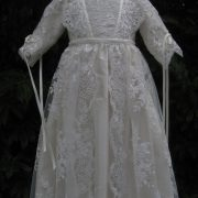 Girls long Christening Gown