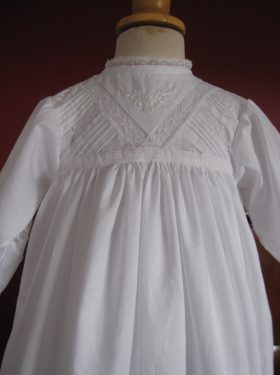Designer Christening Gown - Edwina Bodice by Little Doves