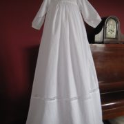 Designer Christening Gown - Edwina by Little Doves