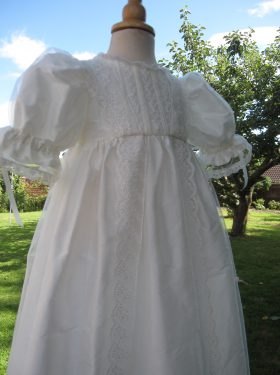 Christening Gowns - Victorian Style Lace Christening Gown from Little Doves