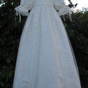 Victorian Style Lace Christening Gown from Little Doves