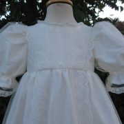 Victorian Style Lace Christening Gown Bodice from Little Doves