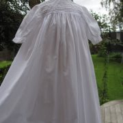 Edwardian Cotton Baoptism Robe by Little Doves