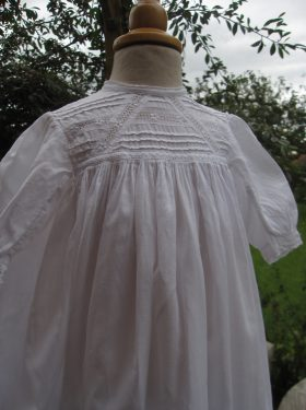 Edwardian Cotton Baptism Robe