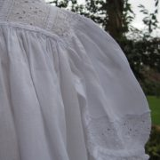 Long Edwardian Baptism Gown by Little Doves