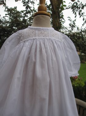 Long Edwardian Baptism Gown Bodice