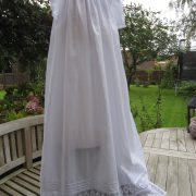 Lace Edwardian Christening Gown