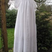 Edwardian Long sleeved Christening Gown