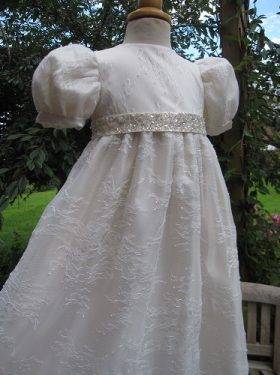 Christening Outfit from a wedding dress