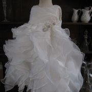 Orphelia Christening gown from a mum's wedding dress