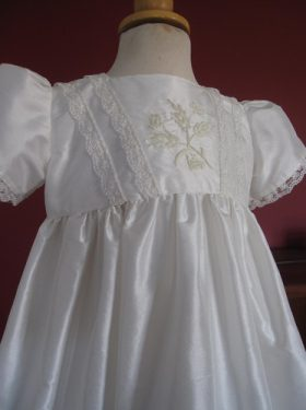 Girl's Designer Christening Gown - Matilda by Little Doves