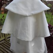 Velvet Christening Cape for Girls from Little Doves Christening Wear