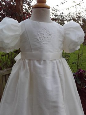 Heirloom Christening Dress for girls by Little Doves Christening Wear